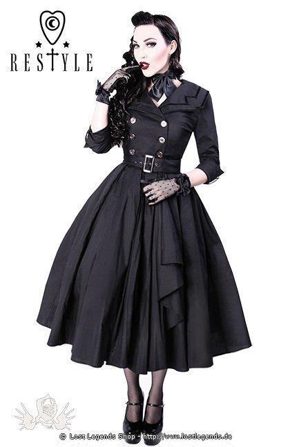 gothic kleid coat dress kleider. Black Bedroom Furniture Sets. Home Design Ideas