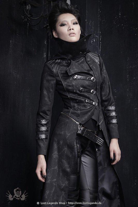 gothic punk coat visual kei jacken. Black Bedroom Furniture Sets. Home Design Ideas