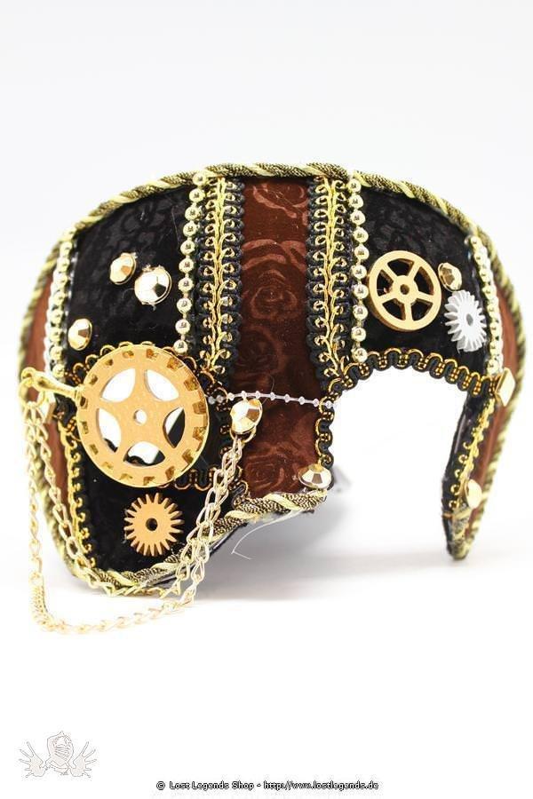 steampunk maske f r m nner halloween. Black Bedroom Furniture Sets. Home Design Ideas