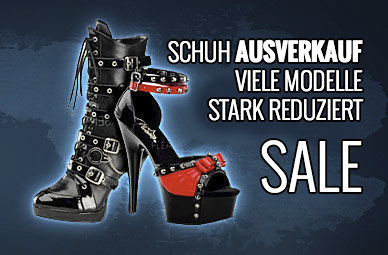 Gothic Schuhe, Rangers, Boots, Pleaser, Bordello, New Rock