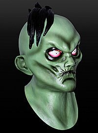 Comic Zombie Latex Maske