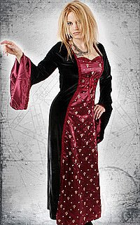 Dark Angels Hell Kleid, Samt