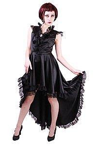 Decadence Satin Gothic Kleid