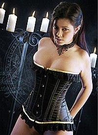 Elegance Korsett, Satin