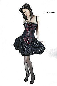 Elektra Corset Gothic Kleid