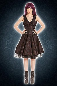 Esme steampunk circle Kleid