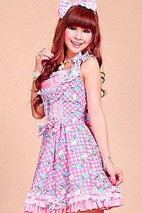 Gothic Lolita Dress Pink
