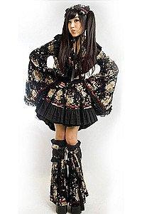 Gothic Lolita Kimono Dress Kleid