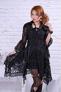 Gothic Lolita Spitzenkleid