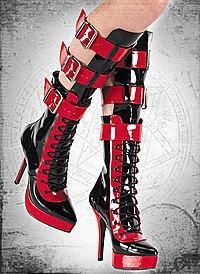 Indulge-1028 Lack schwarz-rot