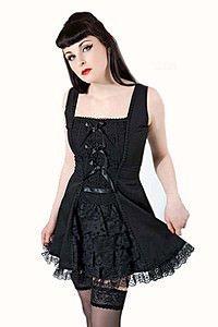 Lavinia Bow Gothic Kleid