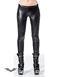 Leggings in Latexoptik