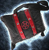 Pentacle Bag Tasche, Samt