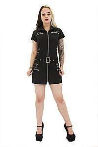Rocka Zip Military Kleid