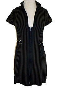 Ross Stripe Military Kleid
