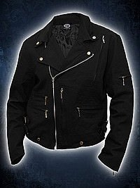 Shut Up And Ride Bikerjacke schwarz SPIRAL