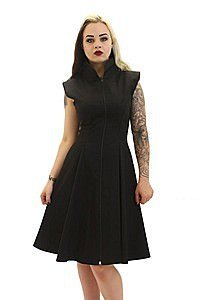 Stretch Canvas Gothic Kleid