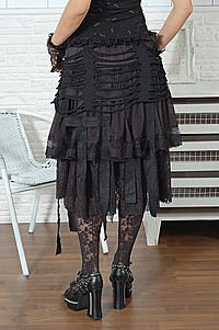 Visual Kei Walking Dead Skirt Gothic Minirock