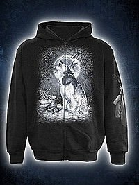 White Wolf Kapuzenjacke SPIRAL