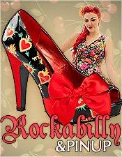 Rockabilly & Pinup Kleider und Schuhe