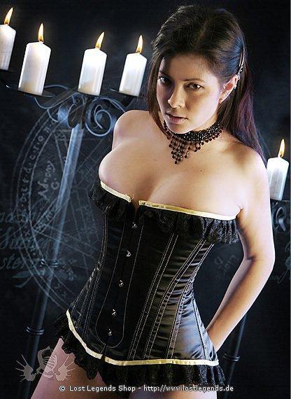 Elegance Korsett, Satin | Gothickleidung.de | Korsetts
