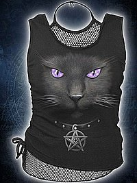 Black Cat 2in1 Netz Top SPIRAL