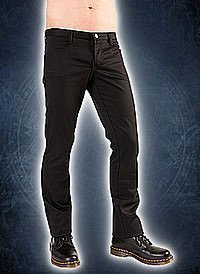 Black Pistol Hipster Denim Black