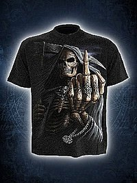 Bone Finger T-Shirt SPIRAL