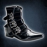 Brogue-06 Demonia Gothic Pike Stiefel