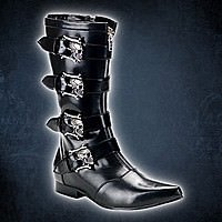 Brogue-107 Demonia Gothic Pike Stiefel