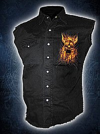 Burn In Hell Workershirt SPIRAL