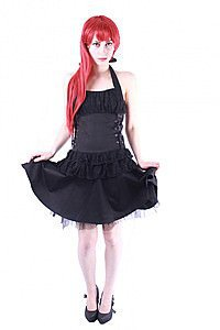 Canvas Gina Lace Gothic Kleid