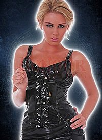 Christina Corset Top Lack Fetish Korsage