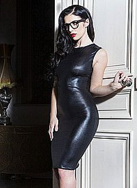 Coccoon Dress Wetlook