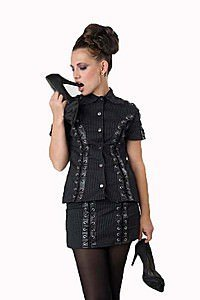 Debbie Eye Gothic Top