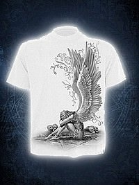 Enslaved Angel T-Shirt SPIRAL