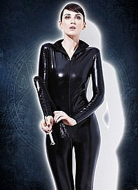 Fever Miss Whiplash Catsuit Wetlook