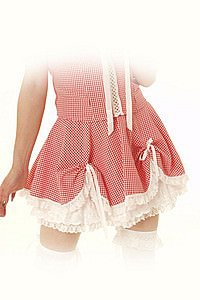 Gingham Dolly Pinup Rock