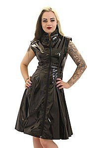 Gloss Crawford Flared Dress Gothic Lack Kleid
