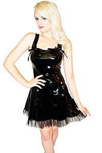 Gloss Flare Gothic Kleid