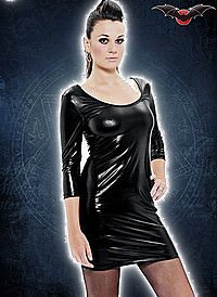 Gloss Gothic Minikleid