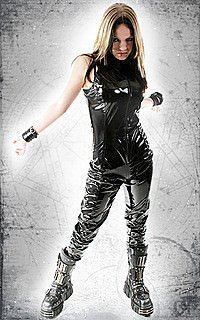Gloss Sleeveless Catsuit Lack