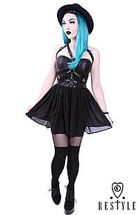 Gothic Kleid HARNESS DRESS