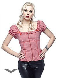 Gothic Top im Rockabilly Stil