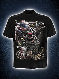 Jack In The Box T-Shirt schwarz SPIRAL