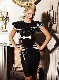 Mademoiselle Dress Latex Kleid