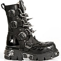 Model 727-S1 New Rock Chain Boots