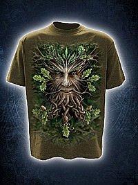 Oak King T-Shirt oliv SPIRAL