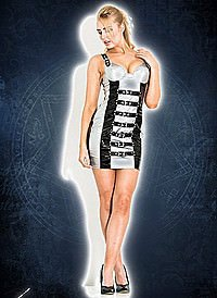 Out Of This World Buckle Dress Lack