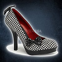 SECRET-12 Houndstooth-Schwarz